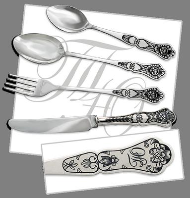 посуда с знаком в виде короны